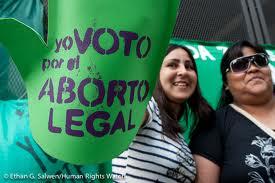 voto el aborto legal
